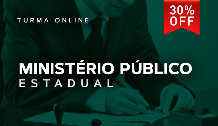 MINISTÉRIO PÚBLICO ESTADUAL 2019.1