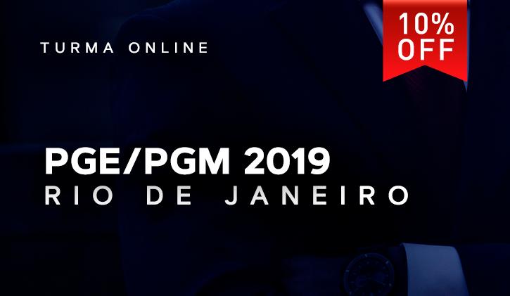 PGE/PGM RIO ONLINE 2019.1