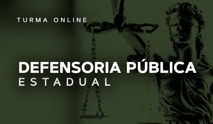Defensoria Pública Estadual 2018 - Online
