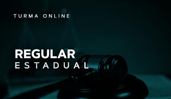 Turma Regular Estadual 2018  - Online