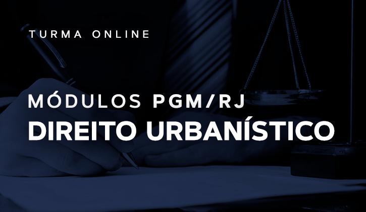 Módulo PGM Direito Urbanístico 2019