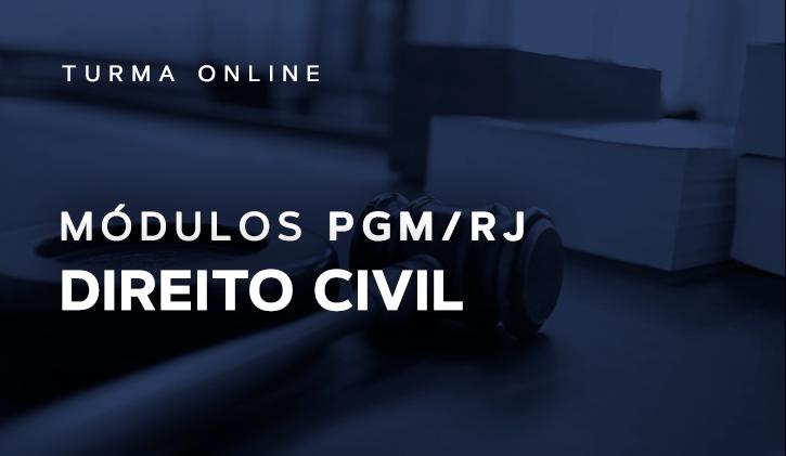 Módulo PGM Direito Civil 2019