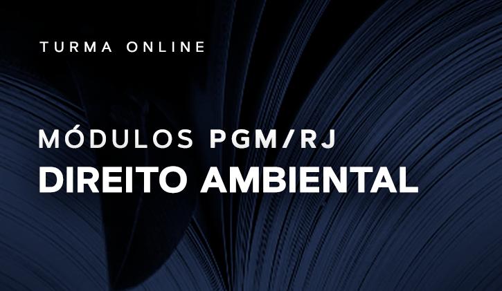 Módulo PGM Direito Ambiental 2019
