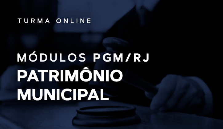 Módulo PGM Patrimônio Municipal 2019