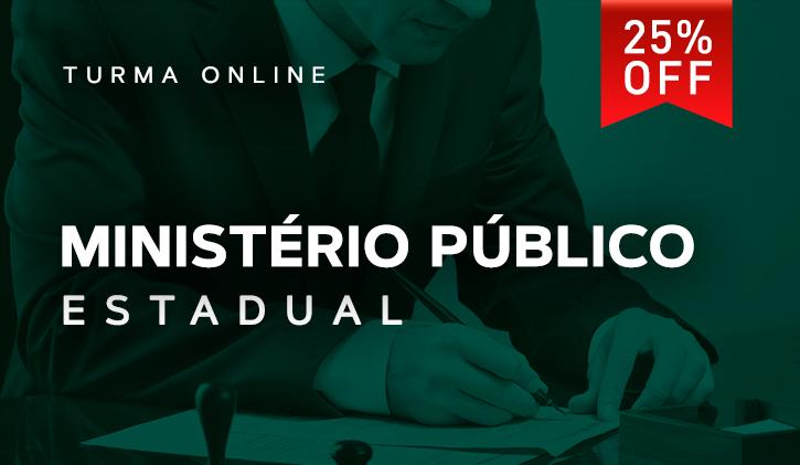 Ministério Público Estadual 2018 - Online
