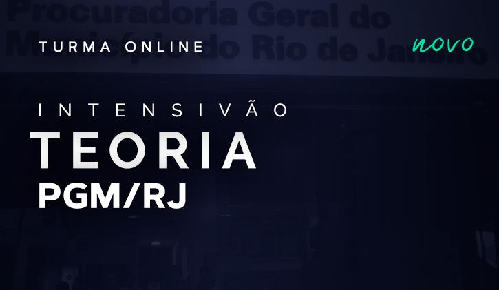 PGM RJ - INTENSIVÃO TEORIA ONLINE
