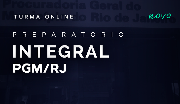 PGM-RJ - PREPARAÇÃO INTEGRAL -  ONLINE