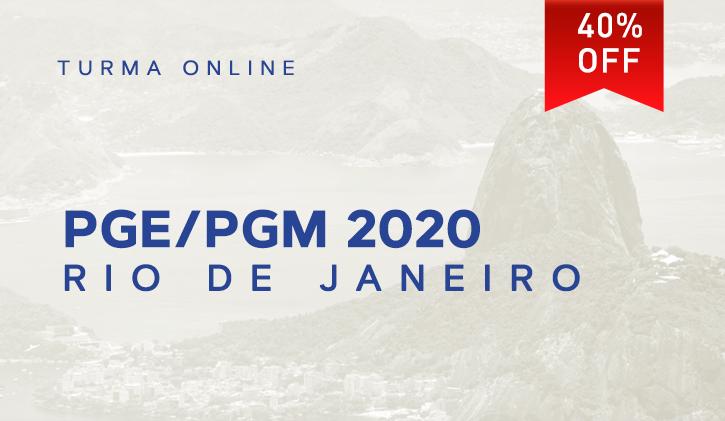 PGE/PGM RIO 2020.1 ONLINE