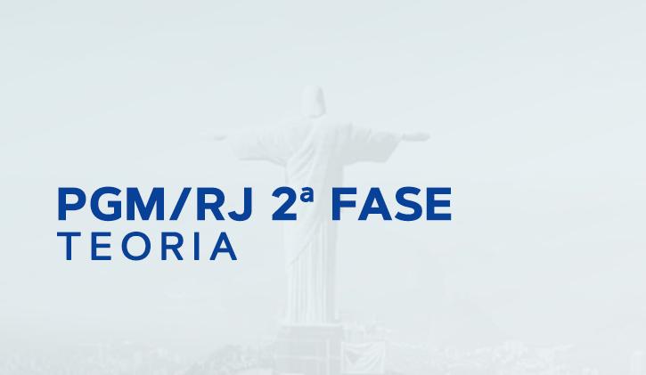 PGM RIO - 2ª FASE - Online