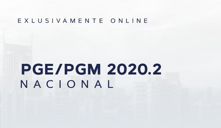 PGE/PGM NACIONAL 2020.2