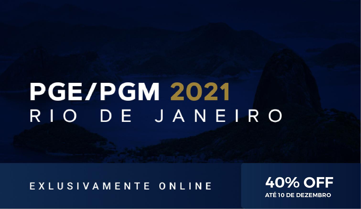 PGE/PGM RIO 2021.1