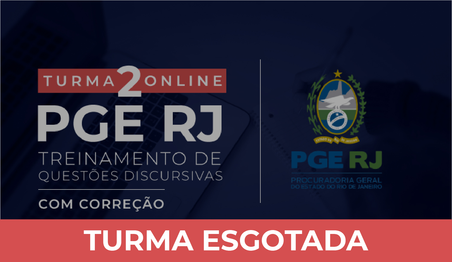 PGE-RJ - Treinamento de Questões Discursivas - Turma 2 (Correção Individualizada)