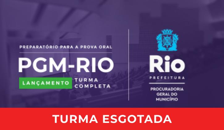 PGM-Rio - PREPARATÓRIO PARA A PROVA ORAL