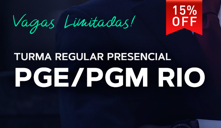 PGE/PGM RIO PRESENCIAL 2019.1
